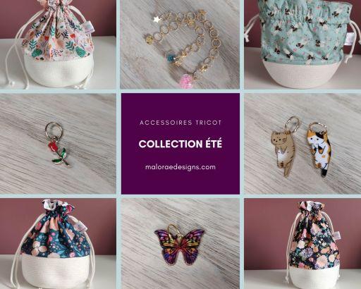 Collection Juillet 2021 - Accessoires tricot - Maloraé Designs