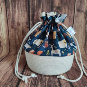 Panier projet tricot - Animaux - Taille M - Maloraé Designs