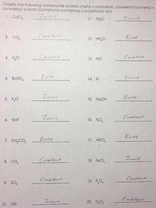 types of chemical bonds worksheet answers geersc. Black Bedroom Furniture Sets. Home Design Ideas