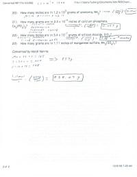 Moles To Grams Worksheet. Worksheets. Ratchasima Printable ...