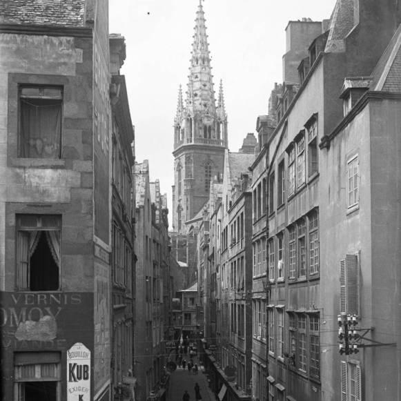 La grand rue avant guerre AMSM 4Fi121