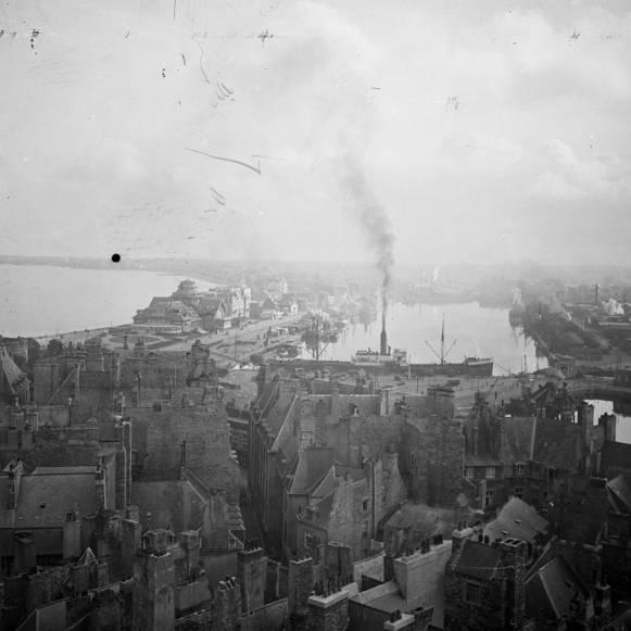Saint-Malo avant la destruction AMSM 4Fi58MSM