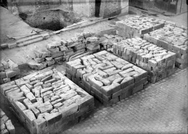 Les pierres de la reconstruction AMSM 4Fi20