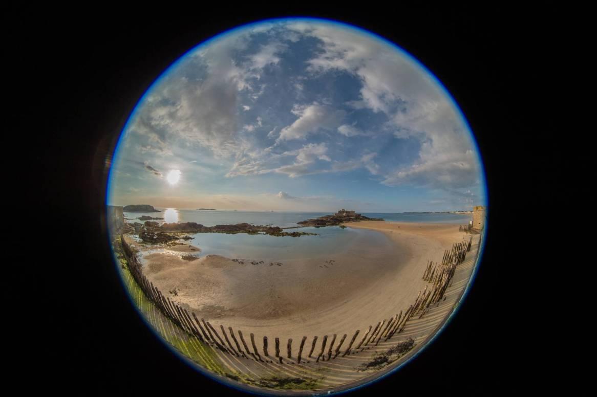 La plage de l'Eventail