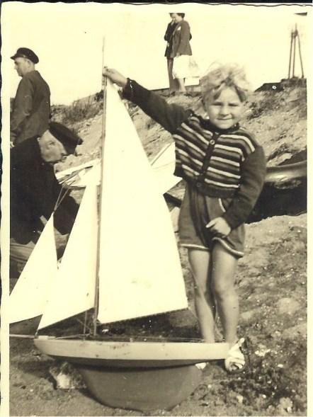 Peter avant une compétition à la mare aux canards
