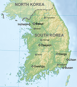 Preparing my trip to South Korea