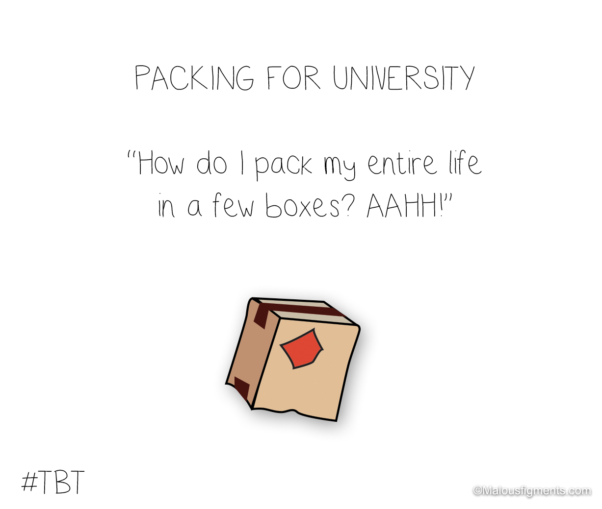 Packing for university