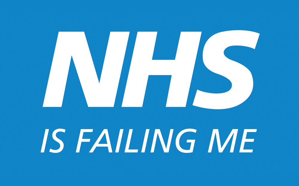 It feels like the NHS is failing me