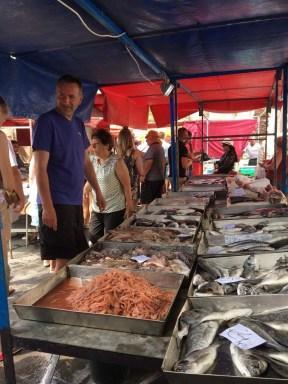 Sunday Market in Marsaxlokk(マルサシュロックのサンデーマーケット)
