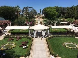 ナシャールにあるPalazzo Parisioの庭