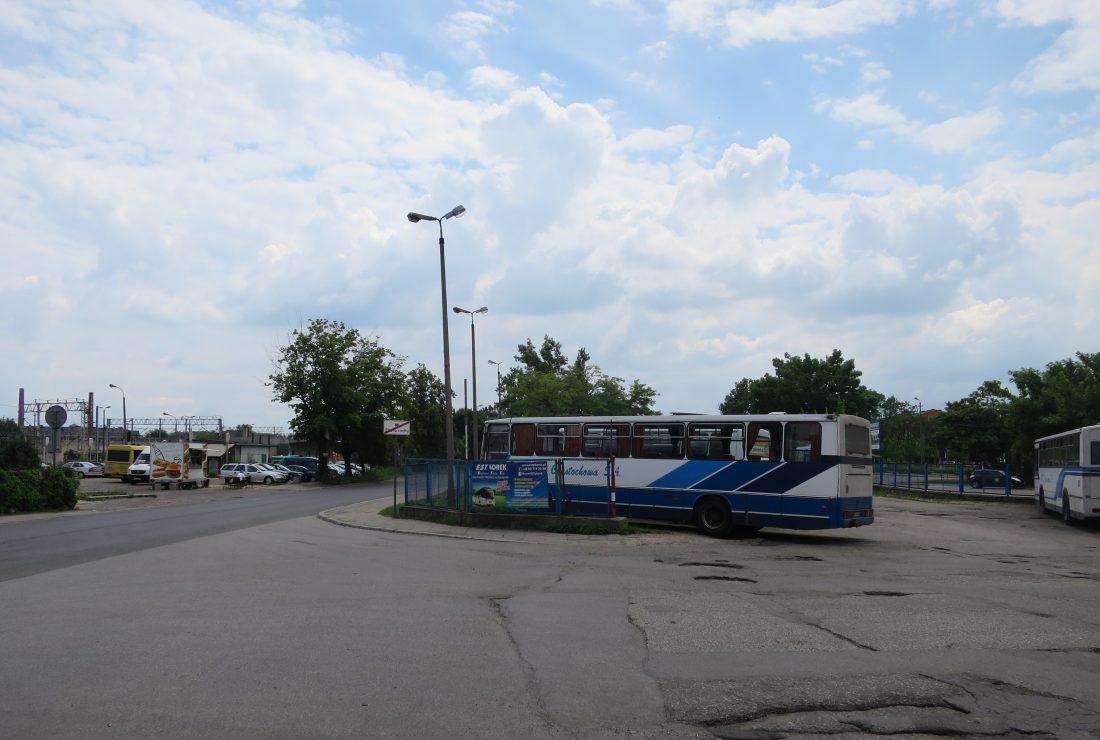 チェンストホヴァのバス停