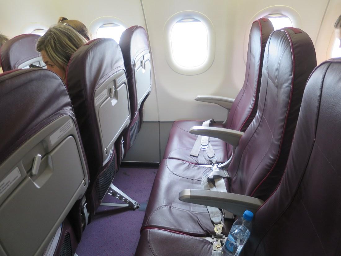 WizzAirの座席