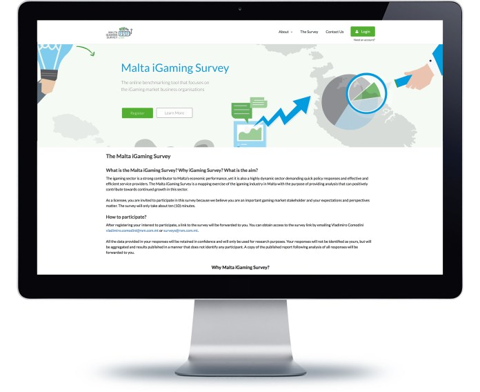 Screengrab of RSM Malta's online iGaming survey. (source: RSM Malta media)