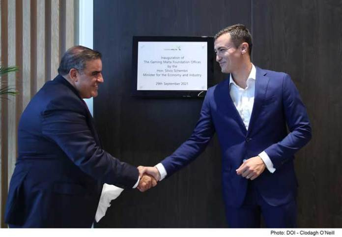 Inauguration of the new offices of Gaming Malta