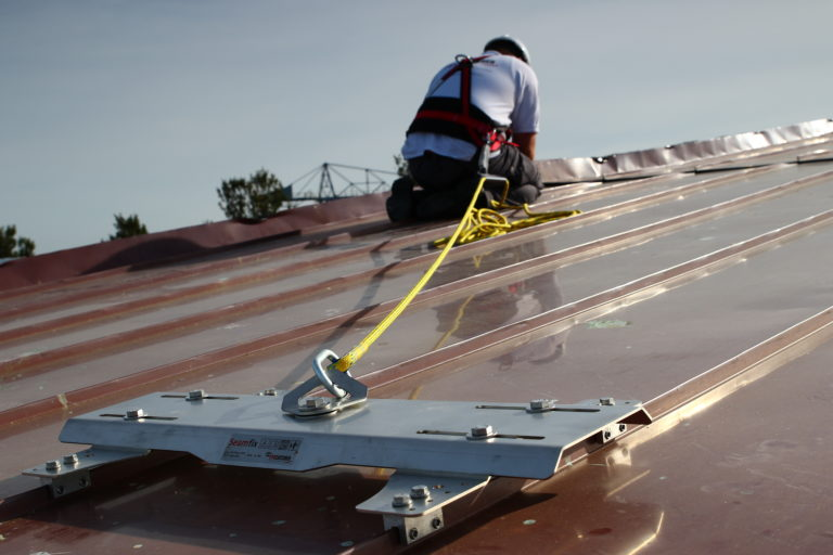 EyeCatcher-SeamFix-Fall-Arrest-Anchor-For-Standing-Seam-Roofs-2-768x512
