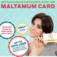 Maltamum Card - Up to 50% less on everything your family needs