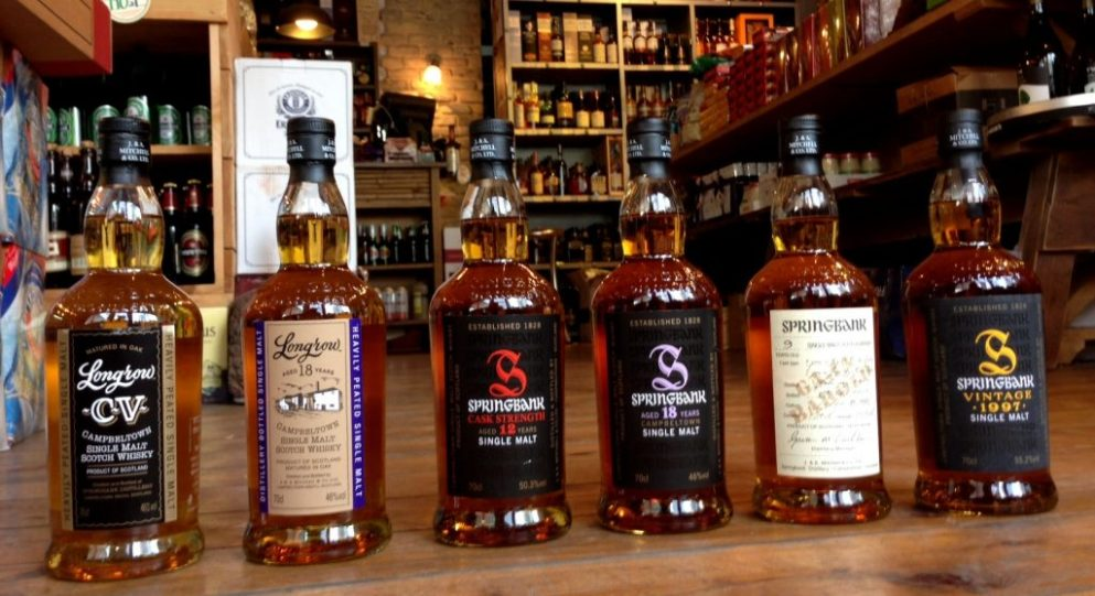 Springbank Tasting, June 2014 at wnf.co.il