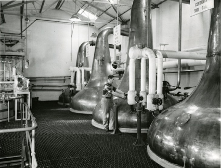 Convalmore Distillery in the 1960s Photo Credit: Diageo