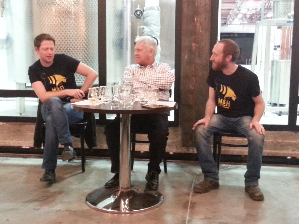 Discussion panel.... © Malt and Oak