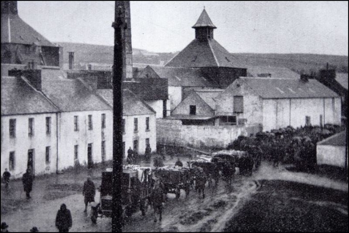 Lochindaal Distillery, 1918 Photo Credit: Bruichladdich.com