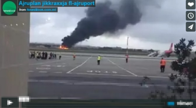 Five Persons Dead in Military Plane Crash in Malta