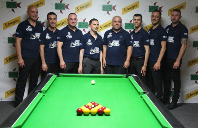 9 Ball Cafe Qawra Premier Division & Super Cup Winners