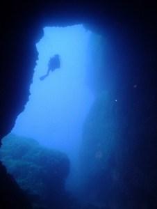 Filfla cave near Blue Grotto Malta Malta
