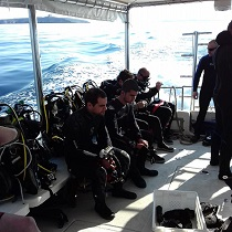 club boat dive