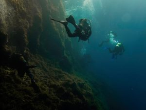 Dive site gozo