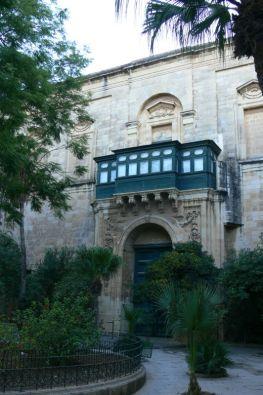 A Nagymesteri palota belső udvara