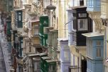 Erkélyek Vallettában