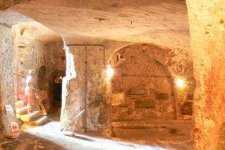 A Szent Pál-katakomba bejárata Rabatban