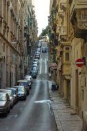 Meredek utca Vallettában