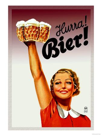 Anuncio cerveza Hurra Bier