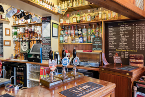 Drinks - photo of the bar at The Malt Shovel Tavern