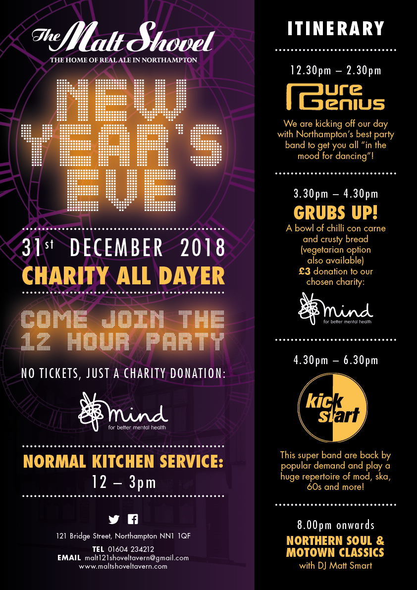 New Year's Eve at the Malt