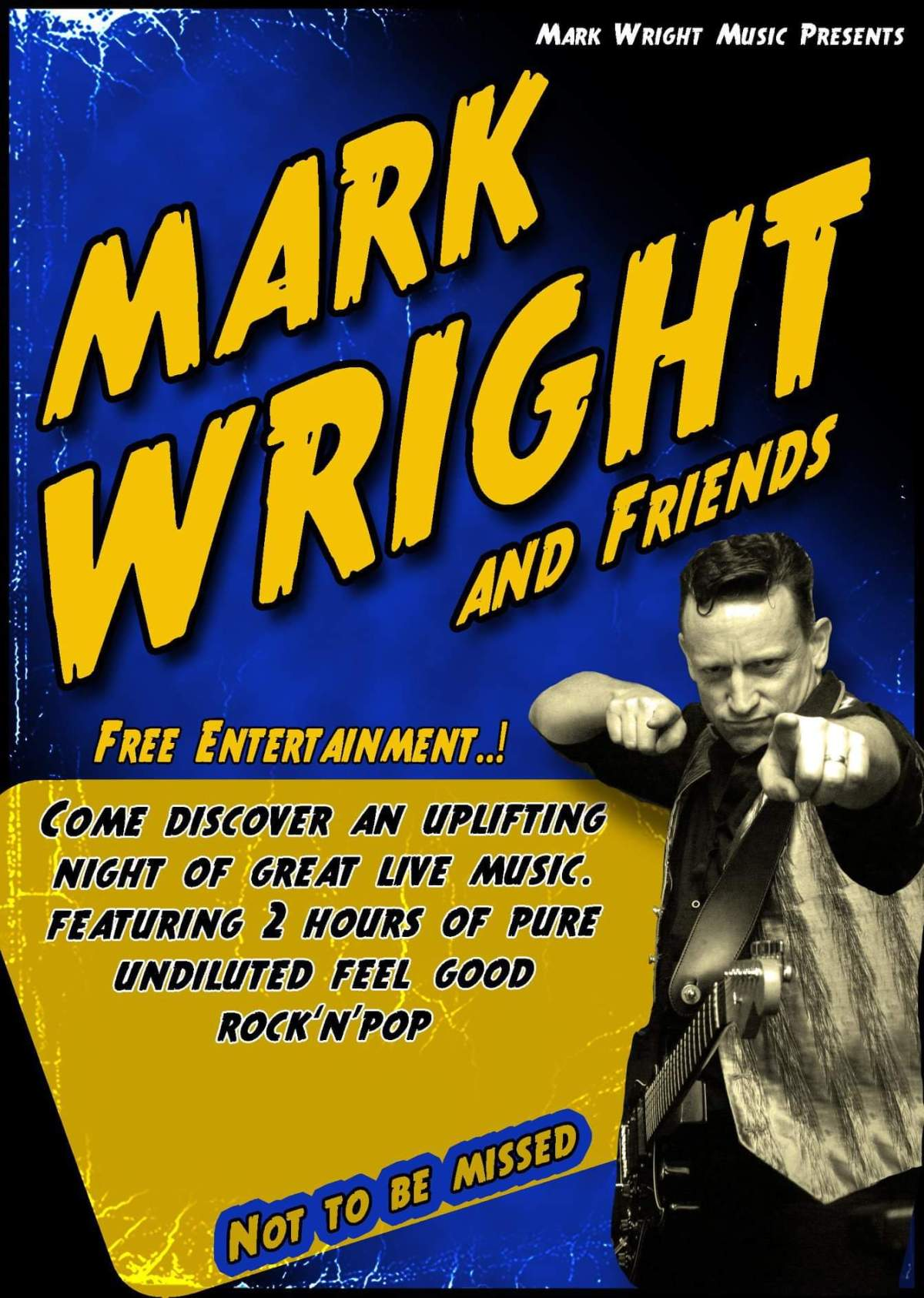 Mark Wright & Friends live