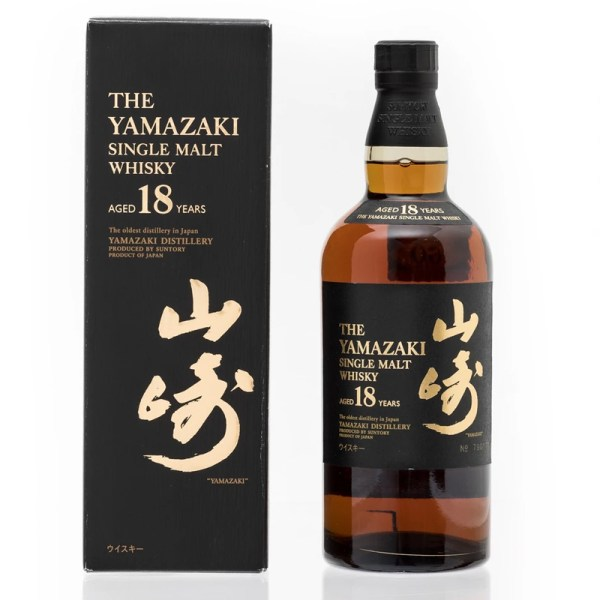 Bottle_Yamazaki 18 Years Old