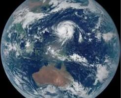 2019年台風19号「ひまわり」画像