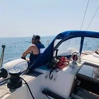 ヨットで冒険