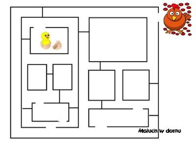 10 darmowych labiryntów dla dzieci do pobrania