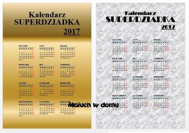 Kalendarz superdziadka