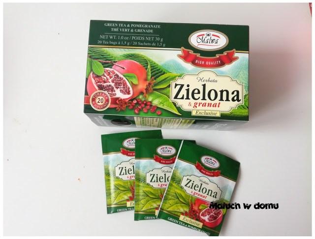 Herbata Zielona z granatem Malwa