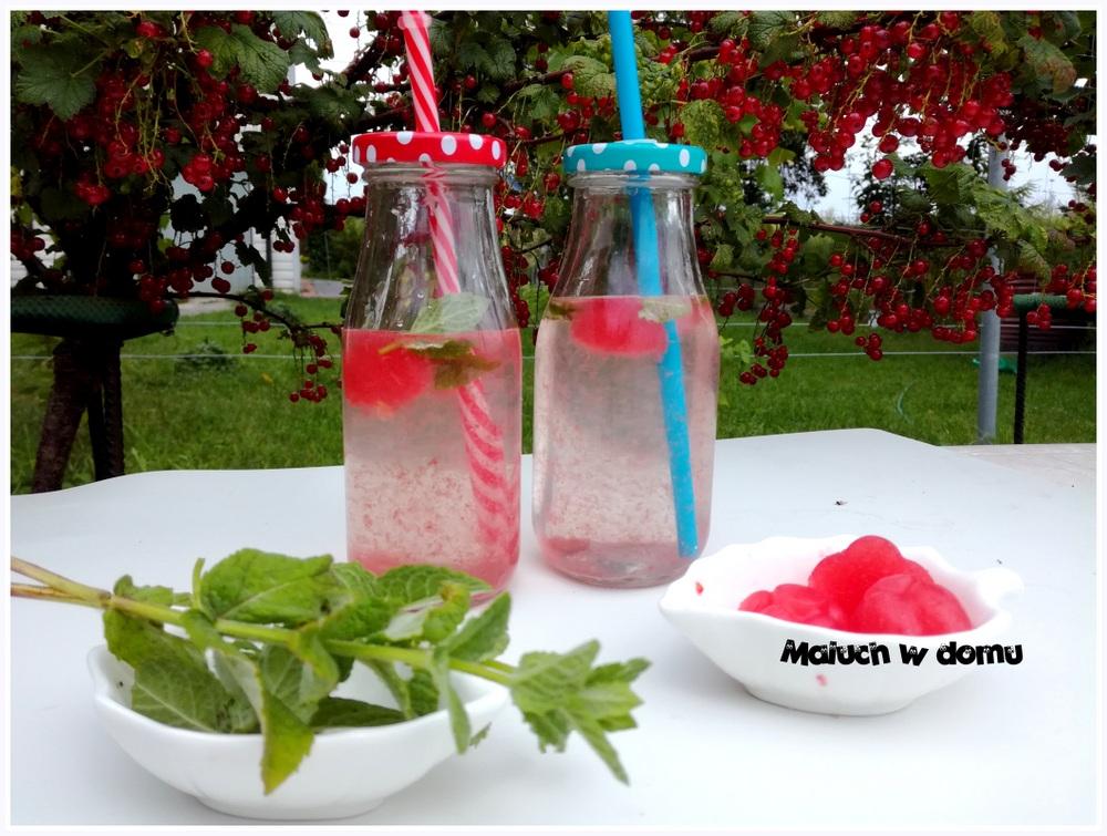 3 sposoby na wykorzystanie arbuza i porzeczek: woda arbuzowo-miętowa