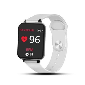 Relógio Smart Watch B57 Inteligente Mede A Frequência Cardíaca E Monitor De Pressão
