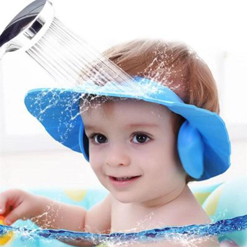 Viseira Protetora De Banho Infantil