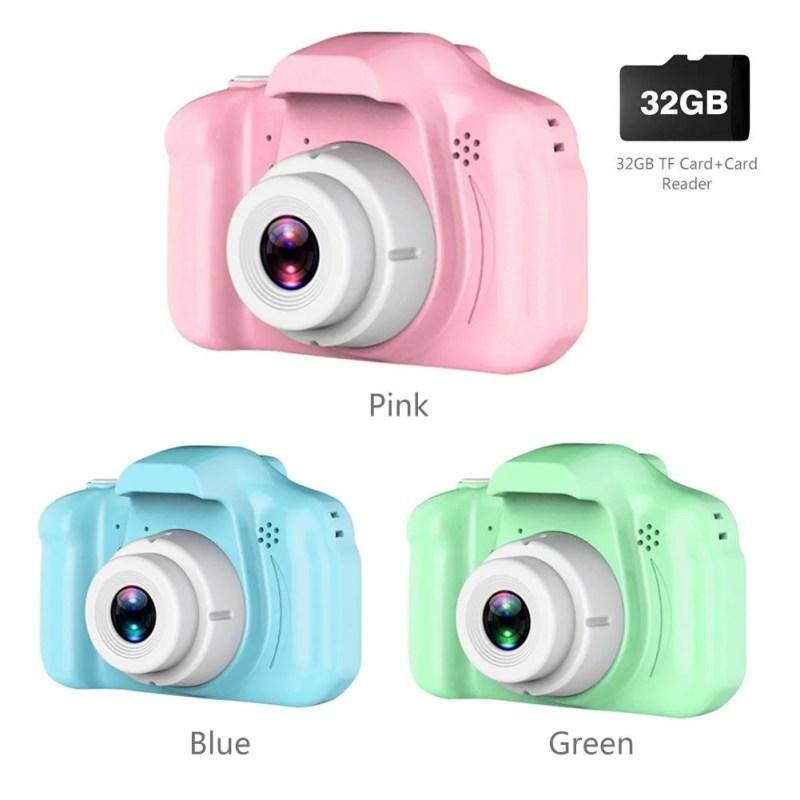Câmera Da Criança HD