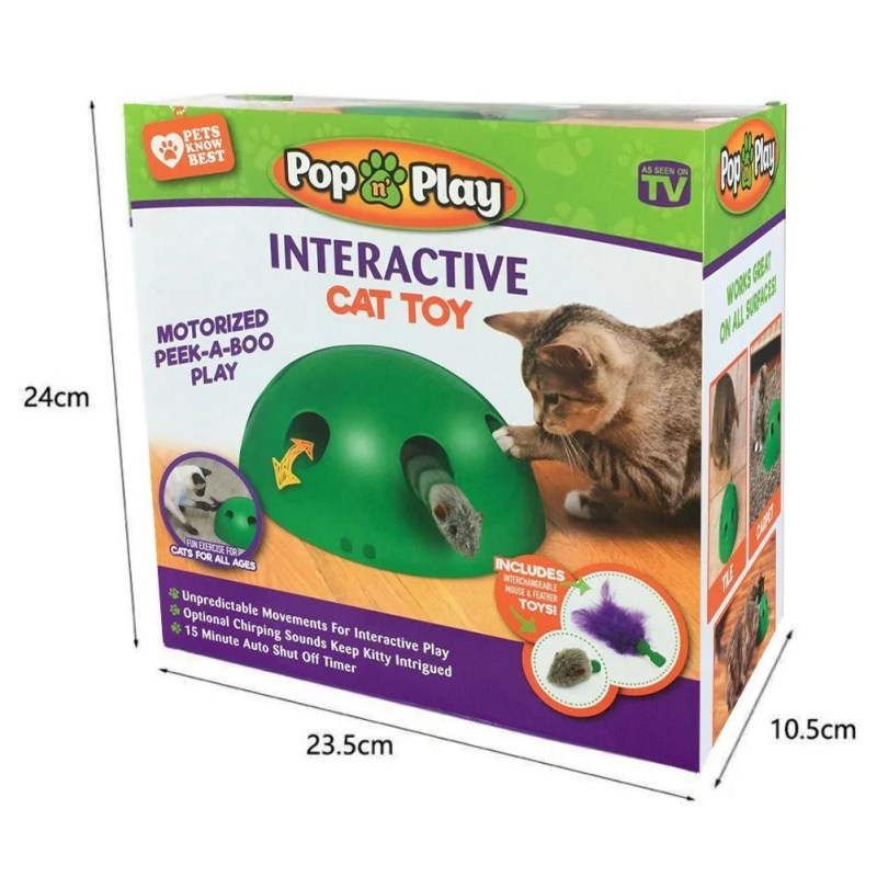 Brinquedo de Movimento para Gatos