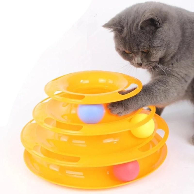 Brinquedo Torre de Gato