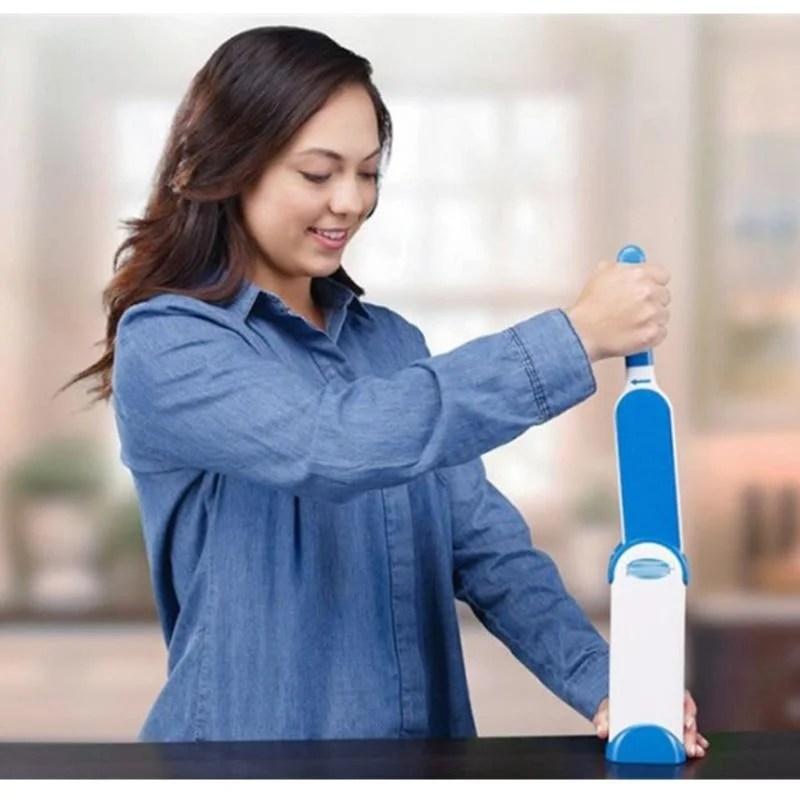Escova Easy Clean Escova Pet Removedora De Pelos Auto-Limpante